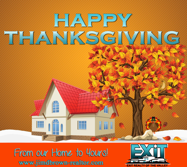 Happy Thanksgiving from Exit Realty